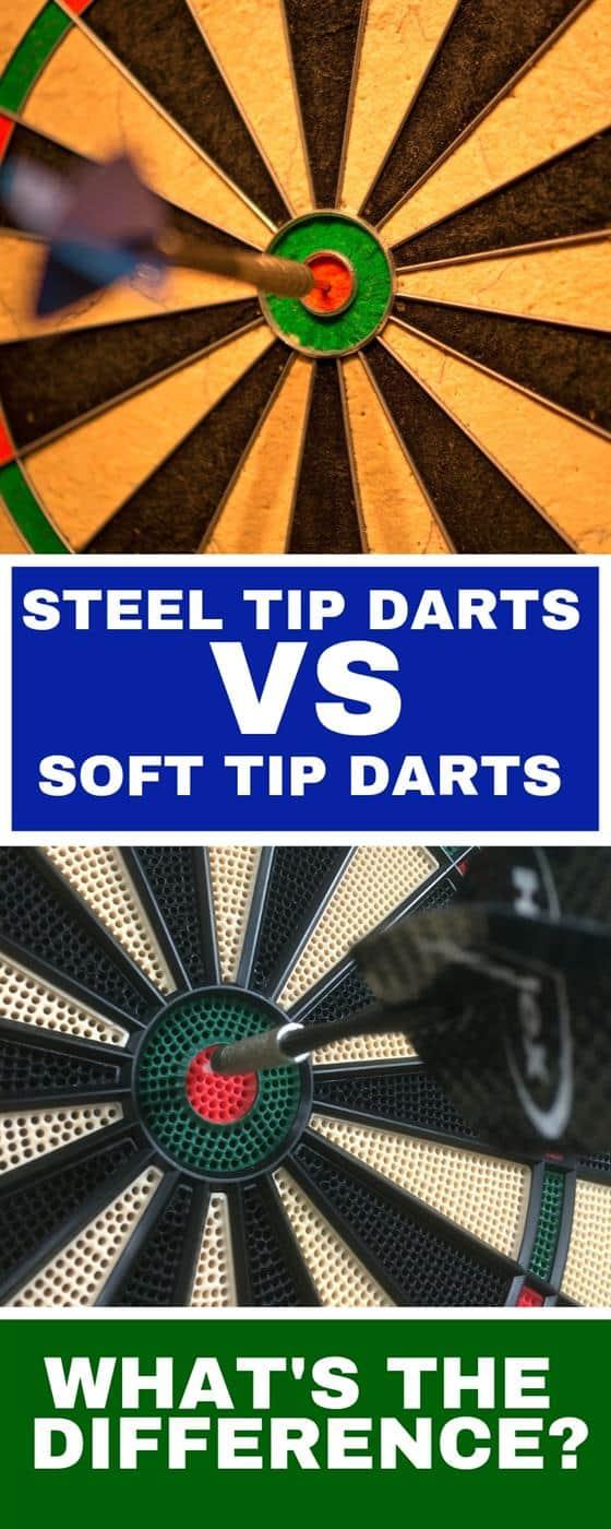 Soft Tips or Steel Tip Darts