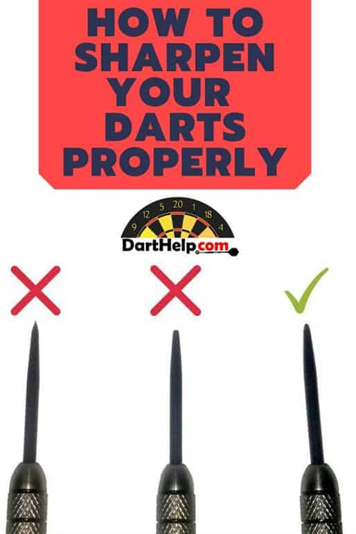 How To Sharpen Your Darts Properly | DartHelp com