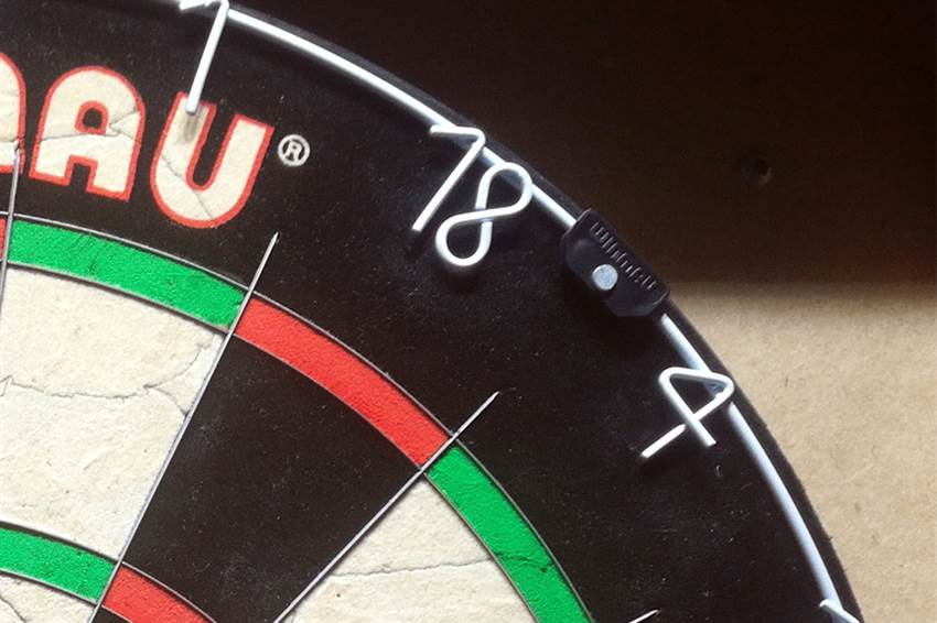 How to Rotate a Dartboard