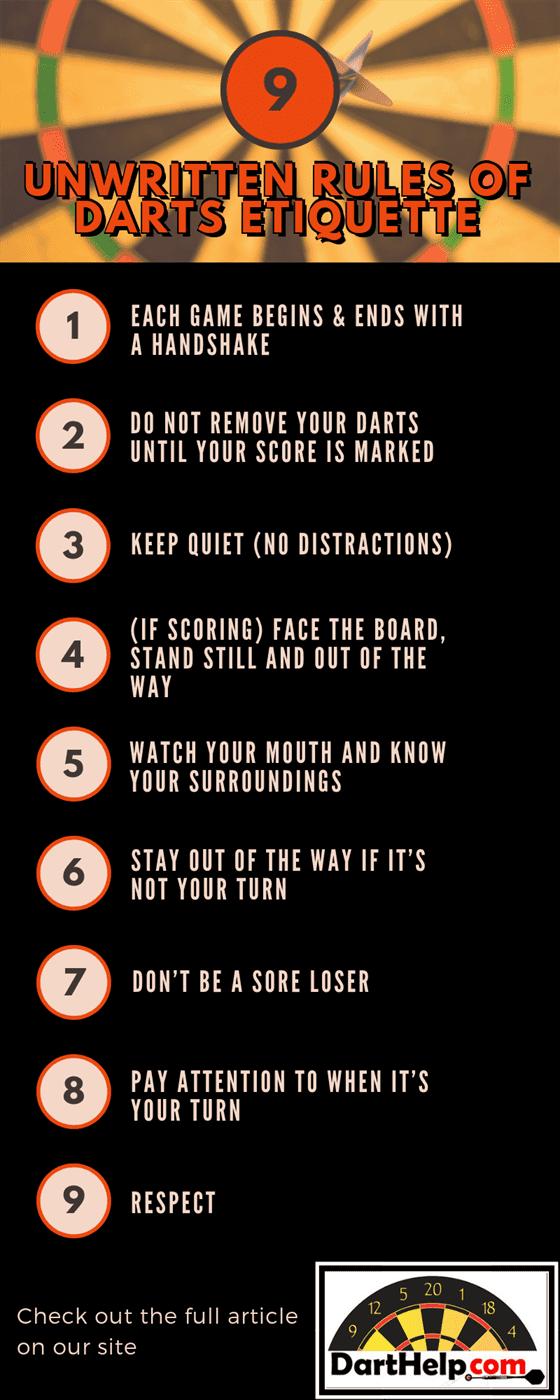 9 Unwritten Rules Of Darts Etiquette