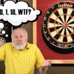 Why are the numbers on a dartboard in that order?