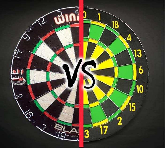 Steel Tip Dartboard Comparison