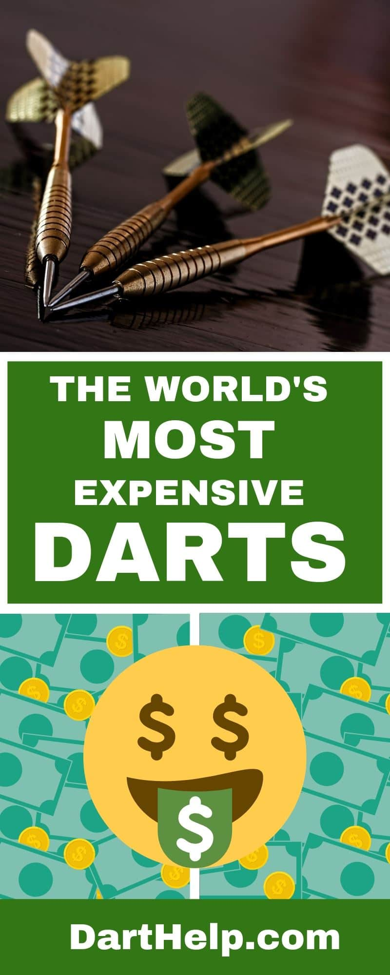 Darts Made Out Of Gold