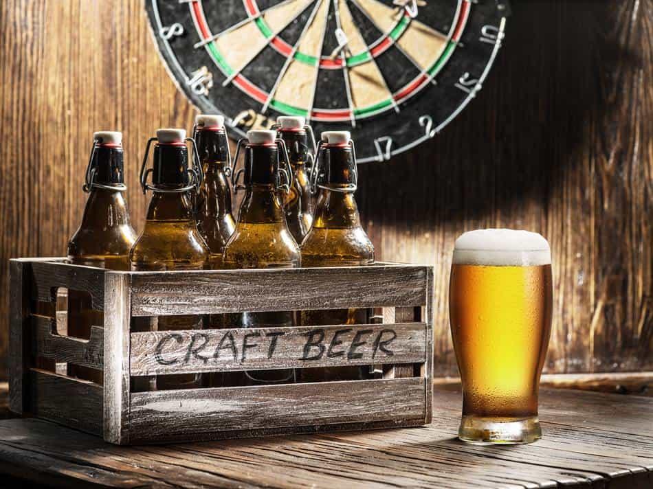 Beer and Darts